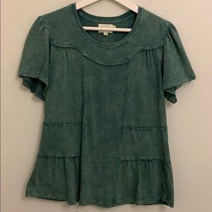 Deletta by Anthropologie Sz small women's shirt